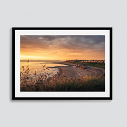 Front Row Seats Photography Print | Morecambe Bay | CAlum Lewis Photography