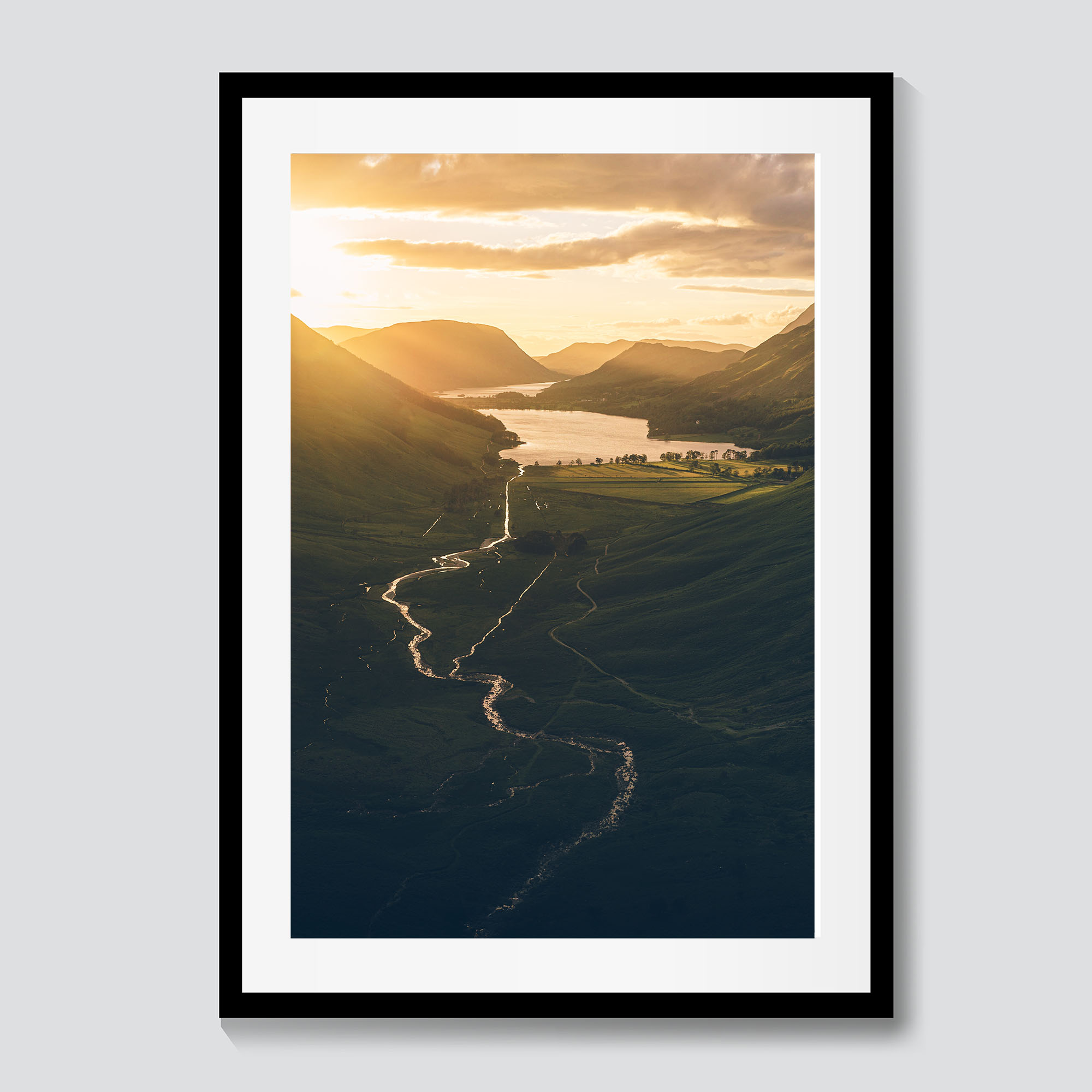 Cliffside Sunset | Lake District Photography Print | CAlum Lewis Photography