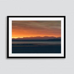 Last Light | Morecambe Bay Sunset Print | CAlum Lewis Photography